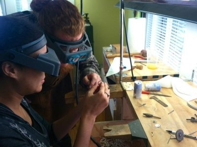 Private Jewelry Making Classes, 1-Day Basic Silversmithing Workshops